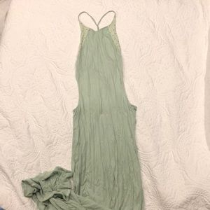 Beautiful seafoam green dress